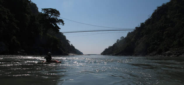 Rafting in lower seti